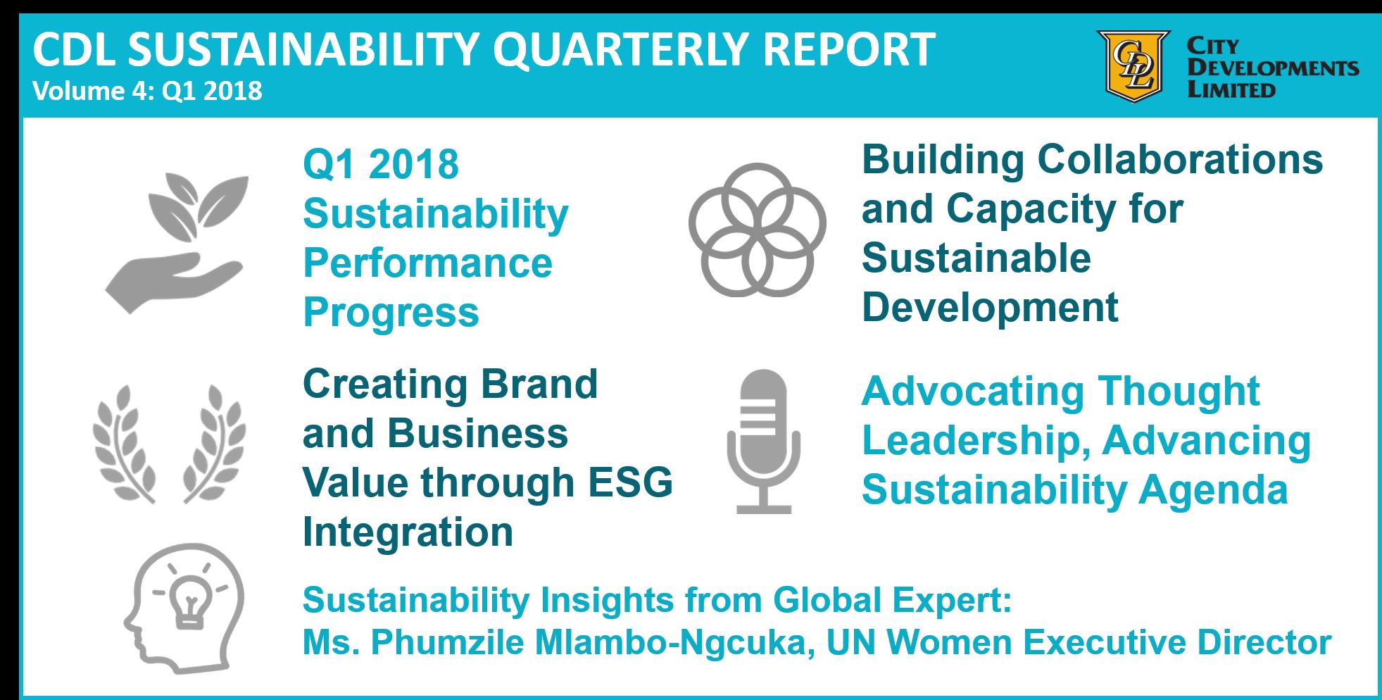 Volume 4: Q1 2018 Report